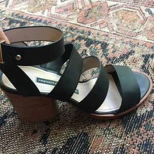 French Connection Block Heel Sandals